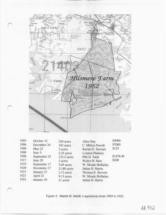 1952 Hilsmere Farm map