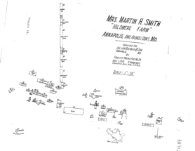 1930 survey Hilsmere Farm