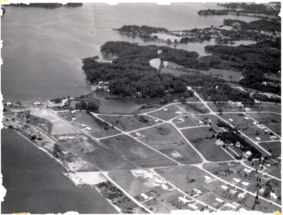 1960s aerial view